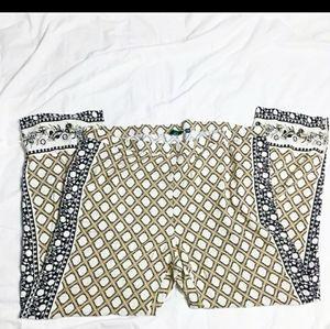 C. Wonder Moroccan pattern palazo pants